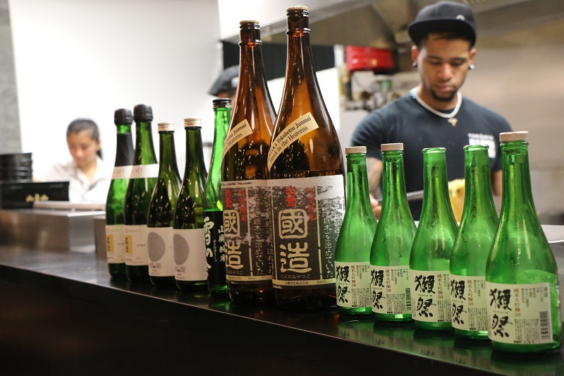 Sake & Food Pairing Event (Oct 2016)
